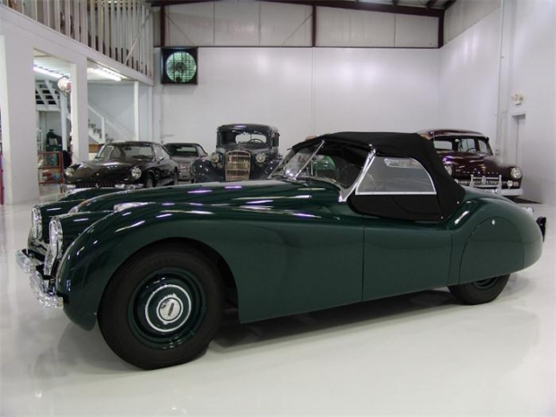 1950 Jaguar XK sports car