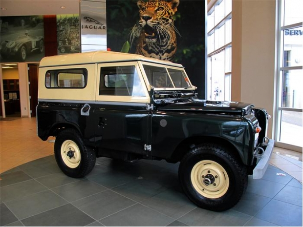 1965 Land Rover Series IIA old car