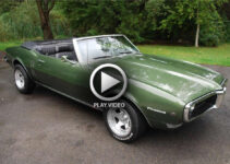 1968 Pontiac Firebird Convertible – Video