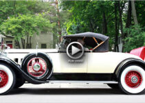 1930 Packard Straight 8 – Two classics in this video