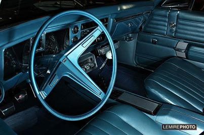 1968 Chevelle interior pic