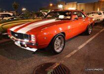 1969 Hugger Orange Camaro SS