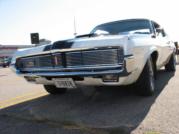 1968 or '69 Mercury Cougar GTE muscle car