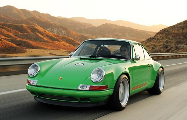 Singer 911 Porsche sports car