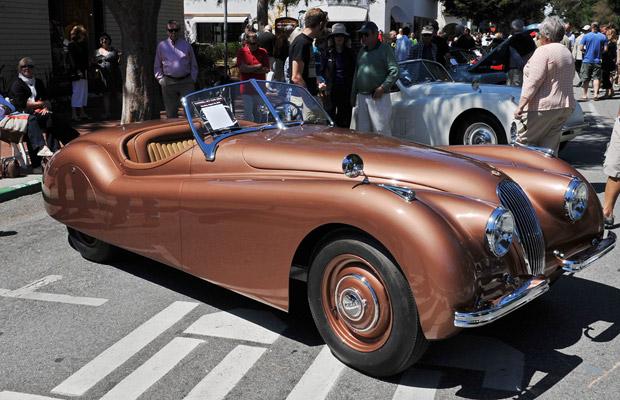1950 Jaguar XK120 old car