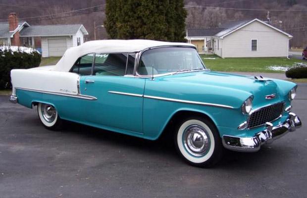 1955 Chevrolet Bel Air old car