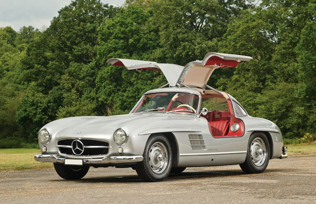 1955 Mercedes-Benz 300SL sports car