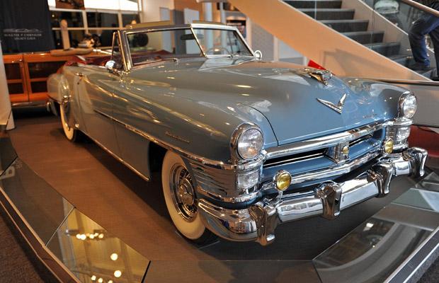 1951 Chrysler New Yorker old car