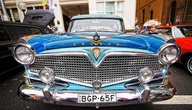 Hudson Hornet old car