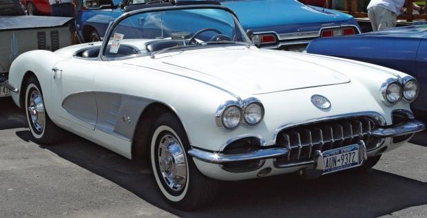 1959 Corvette sports car