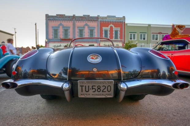1958 Chevrolet Corvette sports car
