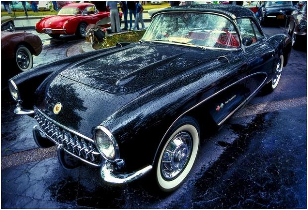 '57 Chevy Corvette sports car