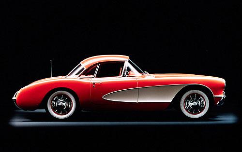 '56 Corvette sports car