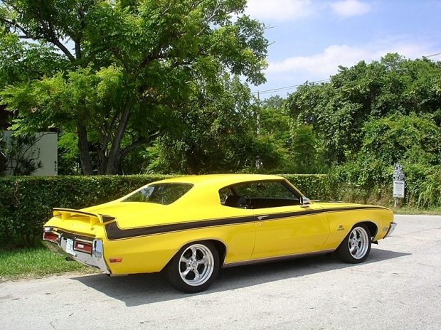 71 Buick Gs Stage 1 Yellow 5 Amazing Classic Cars