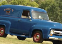 1954 Ford R-100 Panel Pickup Truck