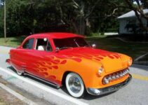 Custom Orange Lead Sled | Old Car