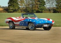 Convertible Corvette from the Movie Austin Powers