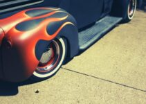 Lead Sled in flames