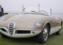 1955 Alfa Romeo Giuletta Sprint Spider Prototipo 004 (Bertone)