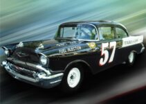 1957 Chevy Black Widow