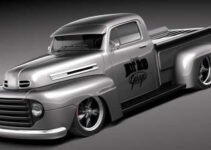 Ford F1 Pickup Truck Hot Rod