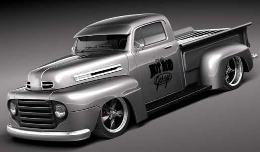 Ford F1 Pickup Hot Rod