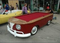 Volkswagen Bus Pool Table