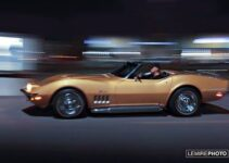 Riverside gold Corvette