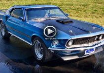 1969 Mustang Mach 1 Startup With Sound – Video