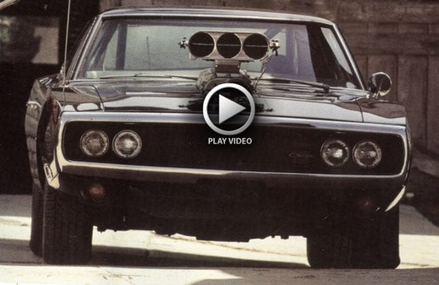 Vin Diesel Charger Video Amazing Classic Cars