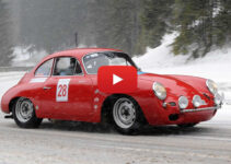 Classic Cars On Snow – Video