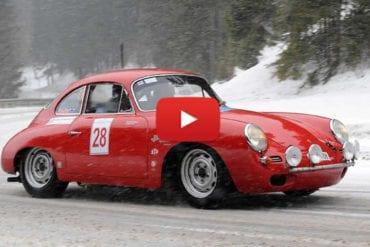 Classic Cars on Snow