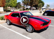 2012 Chevy Camaro ZL1 vs '69 Camaro – Video