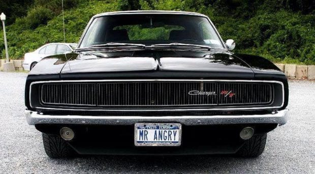 SS Charger muscle car
