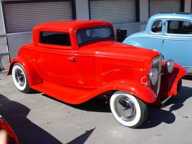 1932 Ford Coupe old car