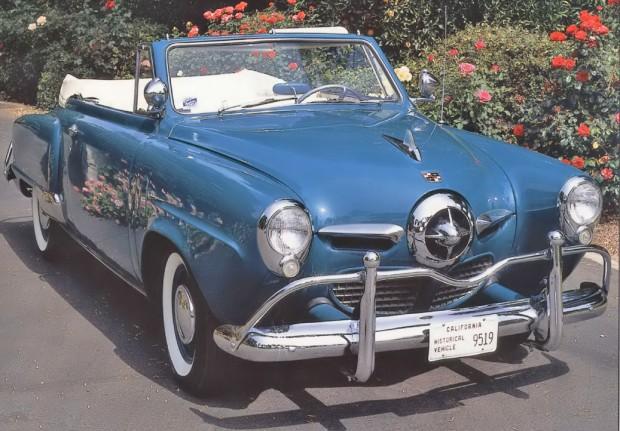 1950 Studebaker old car