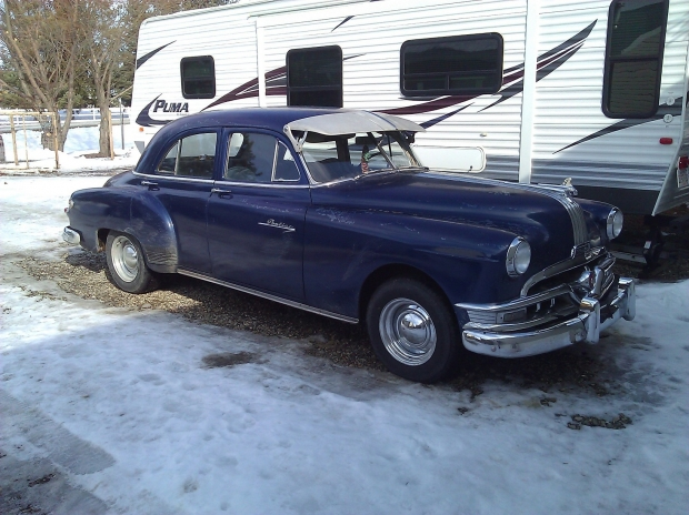 1951 Pontiac Chieftain old car