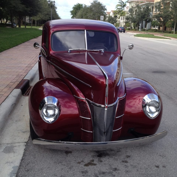 This 1940 Ford Coupe Street Rod