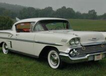 58 Chevy Impala   Old Car