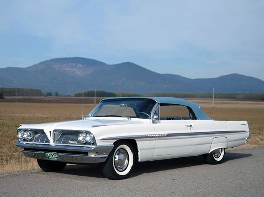 1961 Convertible old car