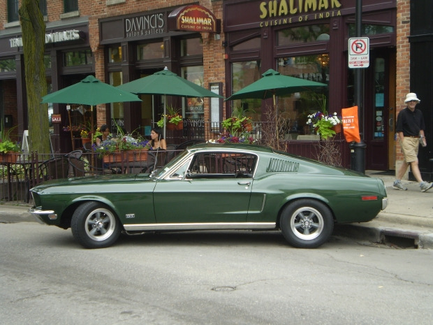 1968 Mustang GT muscle car