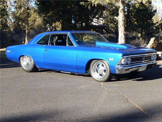 1966 Chevrolet Chevelle SS muscle car
