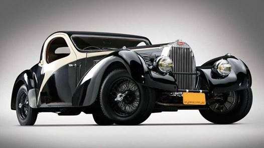 1938 Bugatti Type 57c Atalante old car