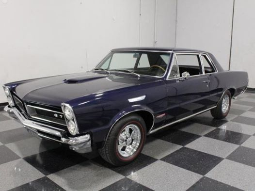 1965 Pontiac GTO muscle car