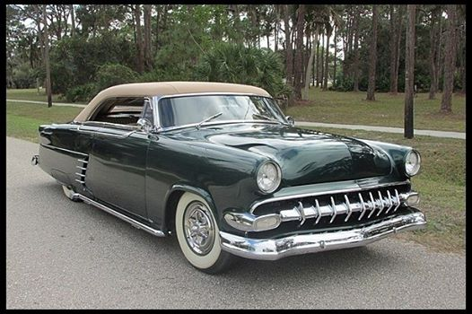 1954 Ford Victoria old car