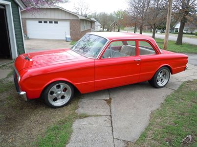 1962 Ford Falcon old car