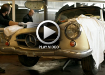 1957 Mercedes 190 SL Reborn Video | Old Car