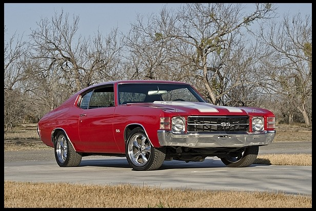 1971 Chevrolet Chevelle Hardtop Muscle Car Amazing