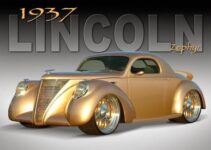 1937 Lincoln Zephyr | Old Car