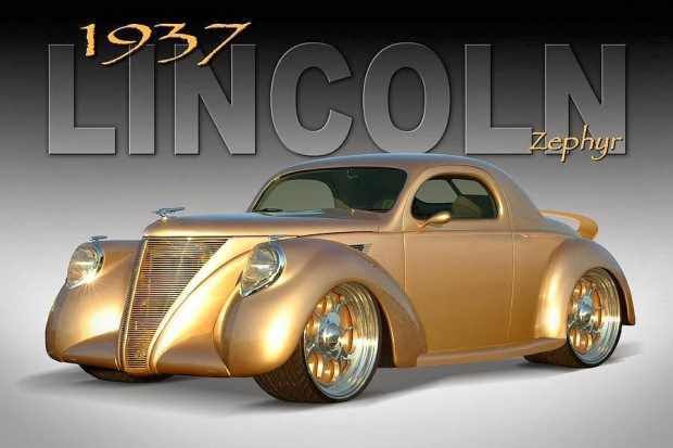 1937 Lincoln Zephyr | Old Car | Amazing Classic Cars